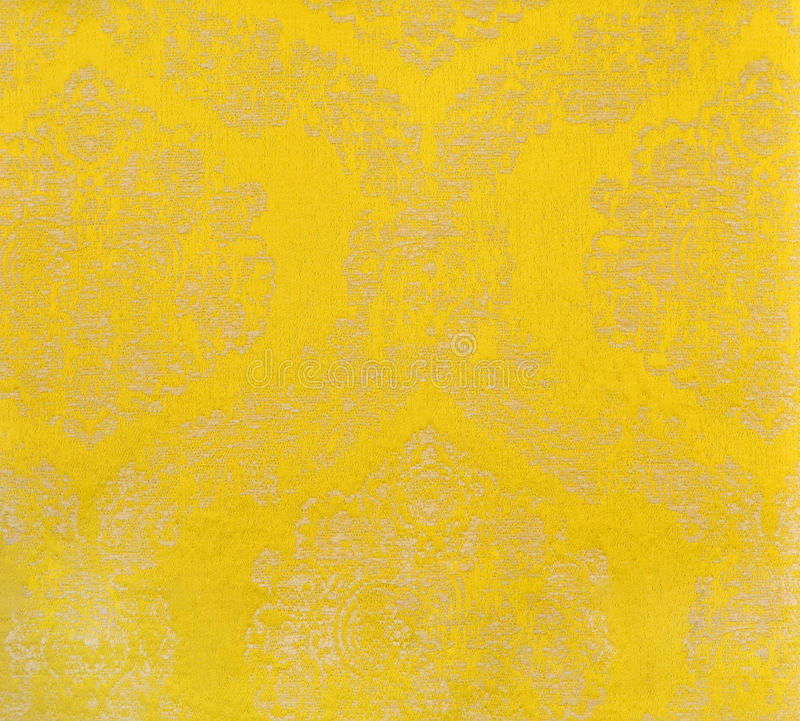 Yellow curtain fabric stock image. Image of process, cement - 29442175