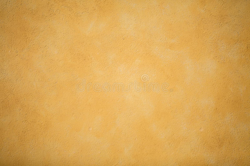 A Yellow Decorative Plaster Wall Stock Image - Image: 44472361