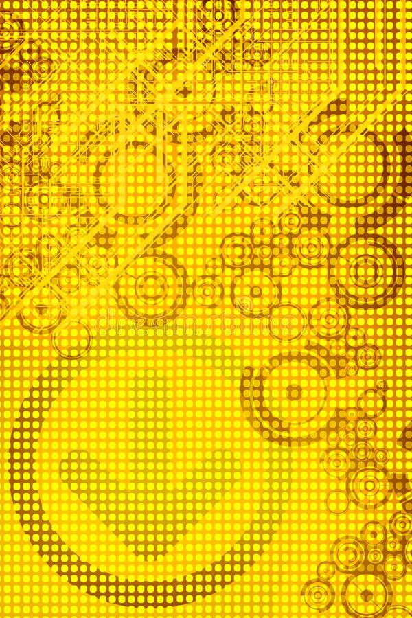 Yellow Design royalty free stock images