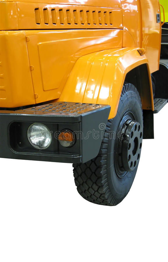Download Yellow Diesel Heavy Cargo Truck (fuel Lorry) Stock Image - Image: 11879563