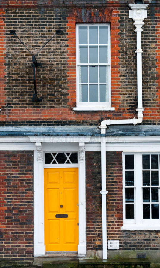 Download Yellow door stock photo. Image of appartment, yellow - 29020614