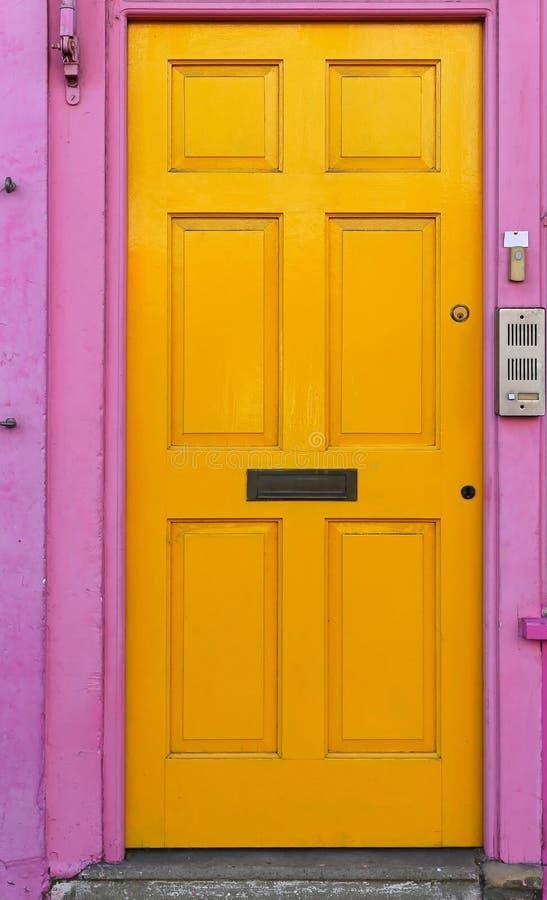 Free Yellow Door Stock Photos - 35588983