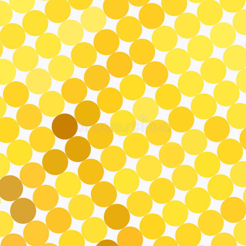Download Yellow dot pattern stock illustration. Illustration of dots - 82048