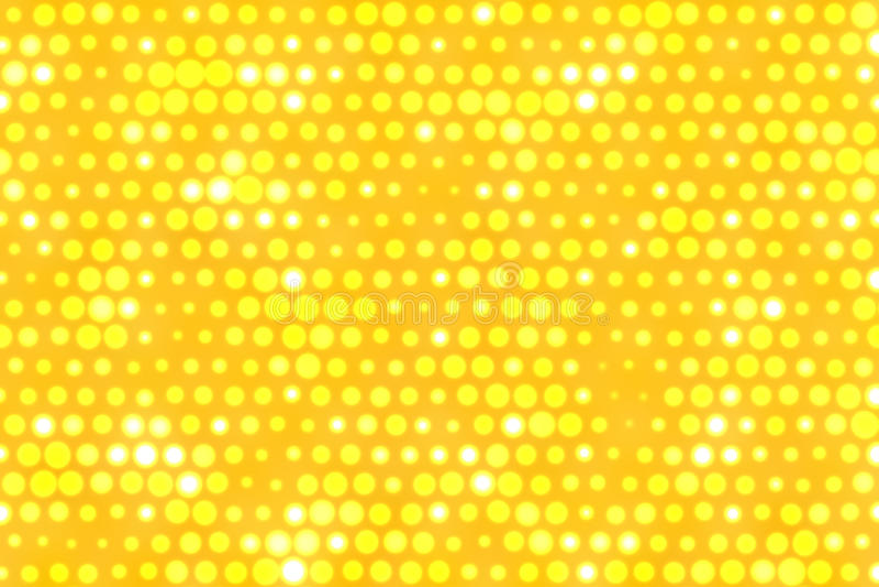 Yellow dots background royalty free illustration