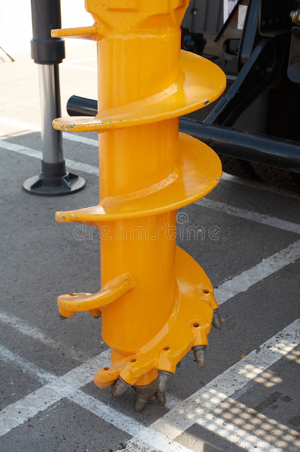 Download Yellow Drilling Rig Royalty Free Stock Photo - Image: 6848535