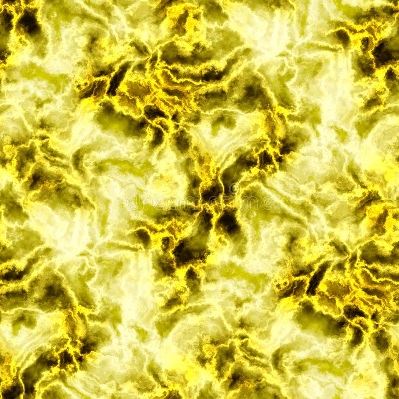 Yellow electric abstract background seamless pattern. Texture royalty free stock images