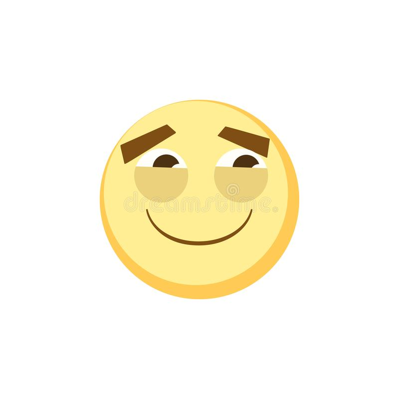 Yellow Emoji Icon For App Game, Ui Or Web Design Template