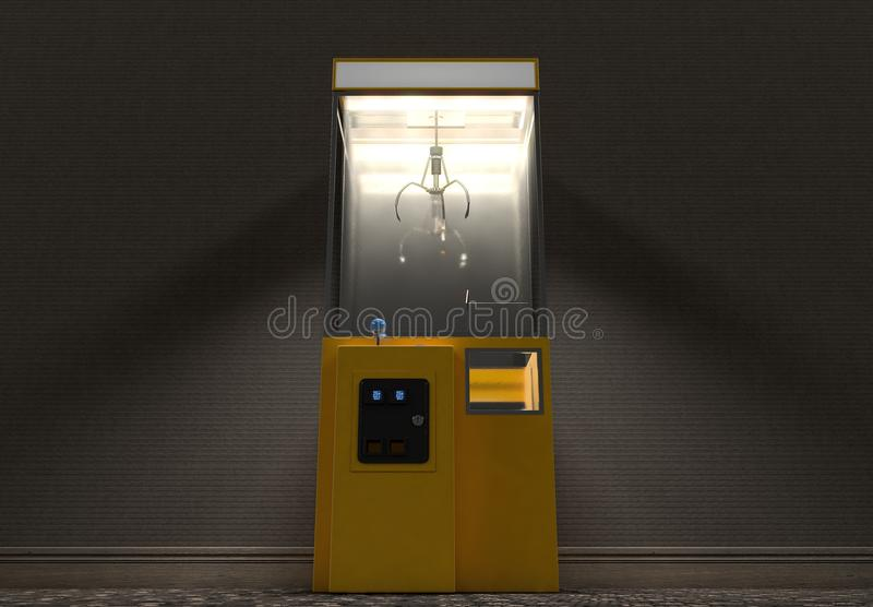 Claw Arcade Game In Room royalty free stock photography