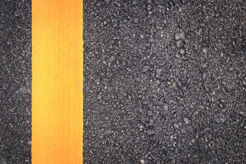 yellow för textur för asfaltvägband royaltyfri bild
