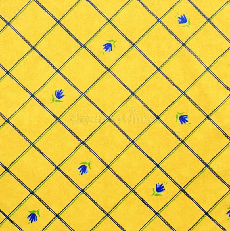 Download Yellow fabric stock image. Image of table, serviette - 23404867