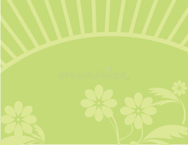 Yellow flower background stock illustration