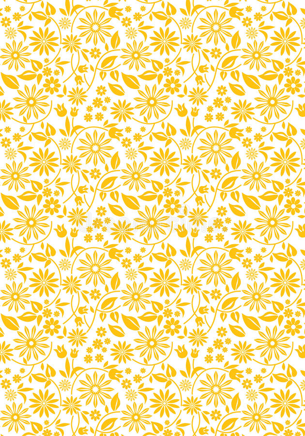 Yellow_flowers_sample illustration stock