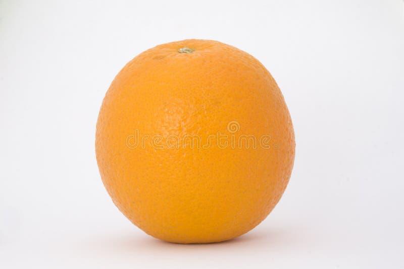 Yellow fresh sweet orange photo isolated white background royalty free stock photography