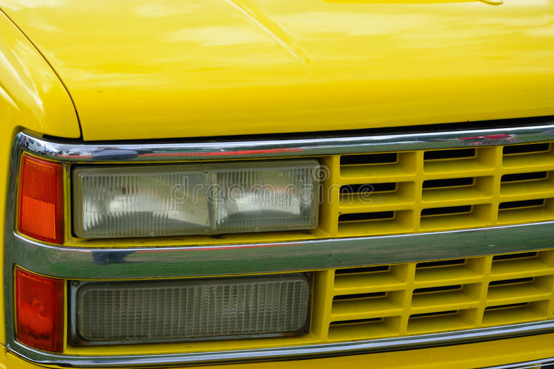 Download Yellow Front Of Car Royalty Free Stock Image - Image: 33574106