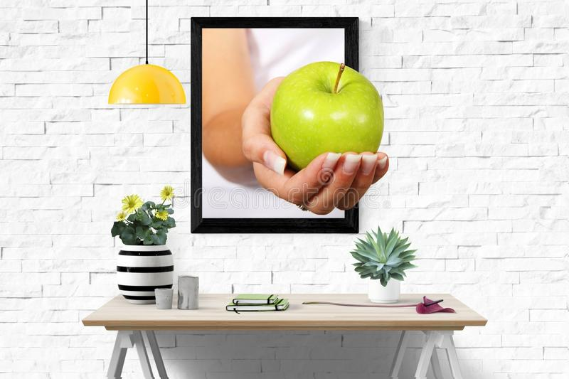 Yellow, Fruit, Produce, Table royalty free stock images