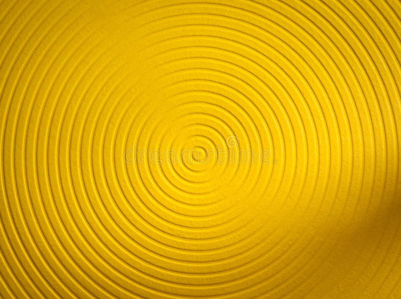 Yellow Funky Background Royalty Free Stock Photography
