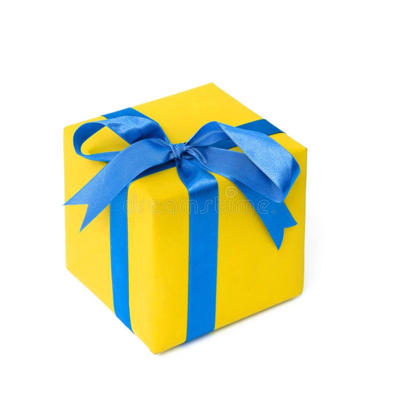 Free Yellow Gift Stock Images - 81442684