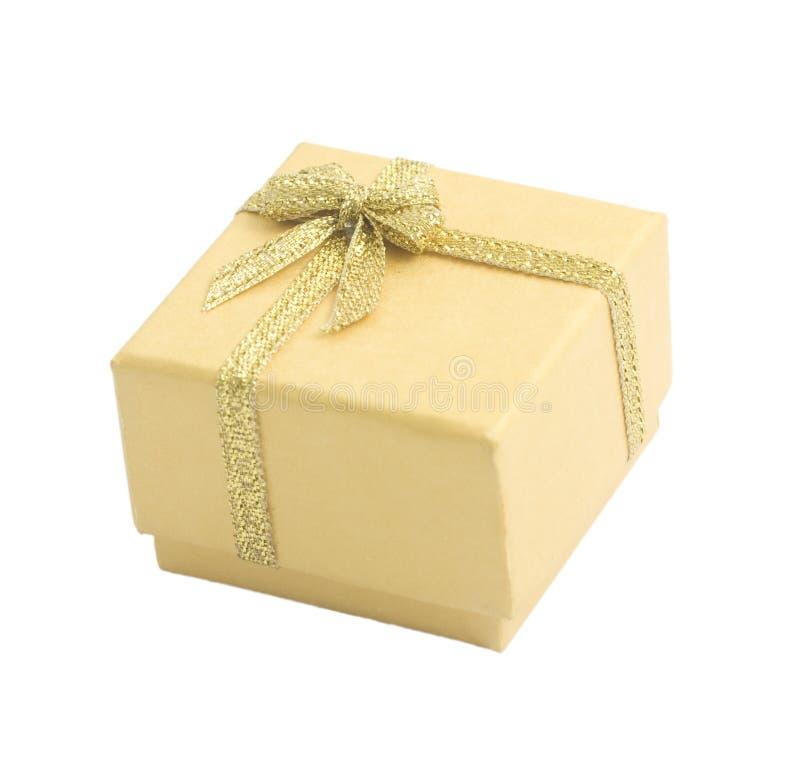 Free Yellow Gift Box Royalty Free Stock Photos - 14700298