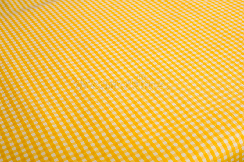 Download Yellow Gingham Background stock photo. Image of decoration - 5198124