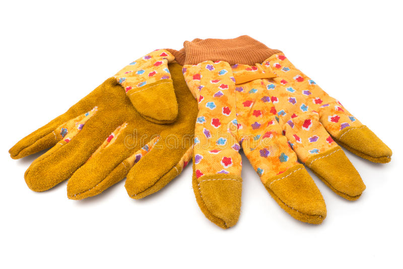 Download Yellow gloves stock image. Image of protective, hobby - 29024179