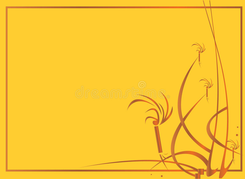 Yellow gold background vector illustration