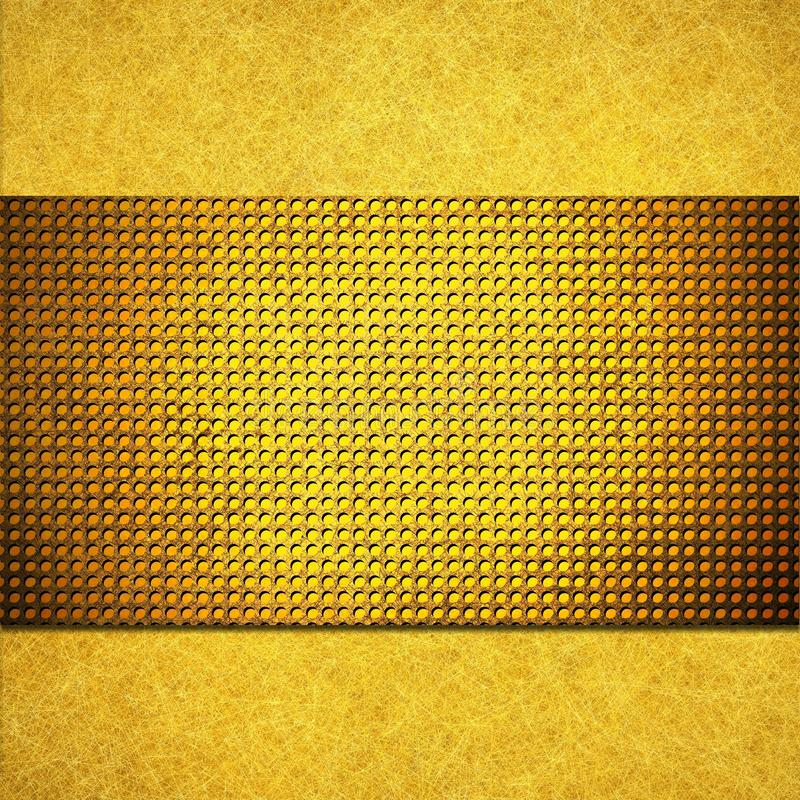 Download Yellow Gold Background Layout Design Stock Illustration - Image: 30952554