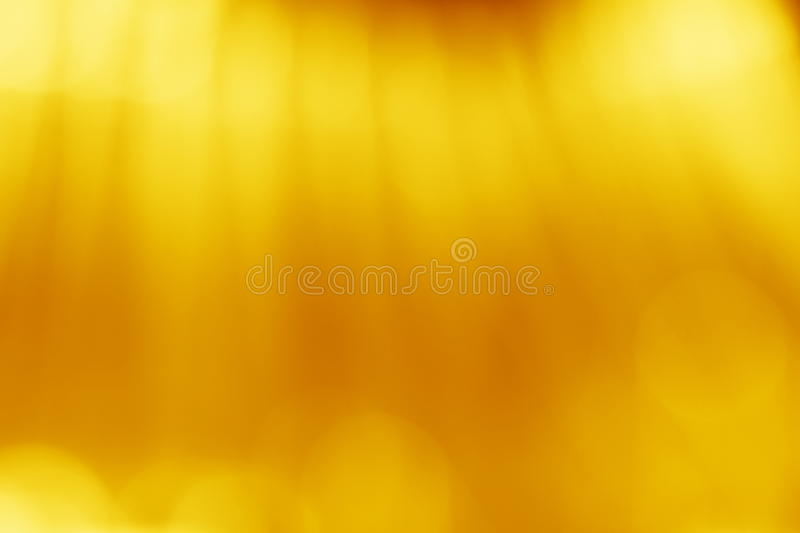 Yellow Gold Blur Background - Autumn Stock Picture. With abstract fall blurred lights stock images