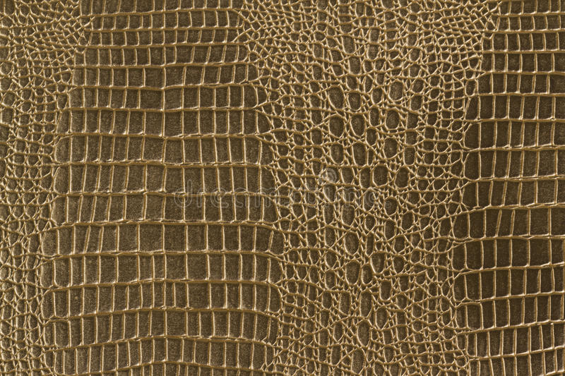 Yellow gold leather texture royalty free stock photos
