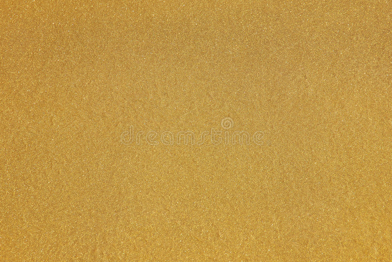 yellow gold paint with glittering flakes stock images - image: 4436184