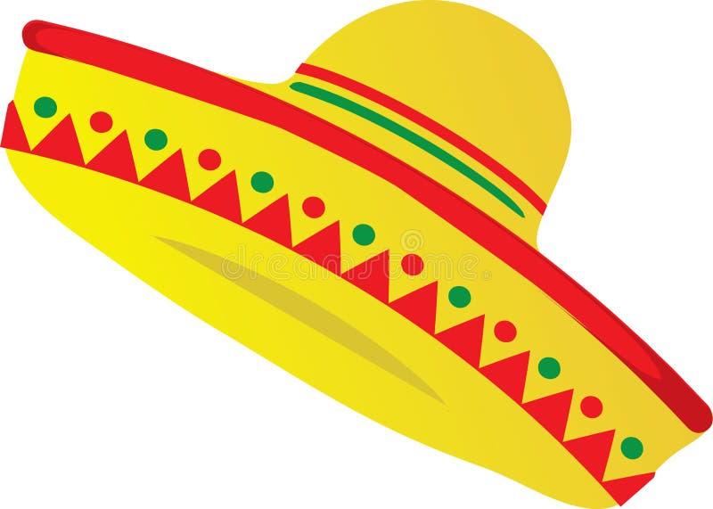 yellow red and green sombrero stock illustration illustration of rh dreamstime com sombrero clip art png sombrero clip art free