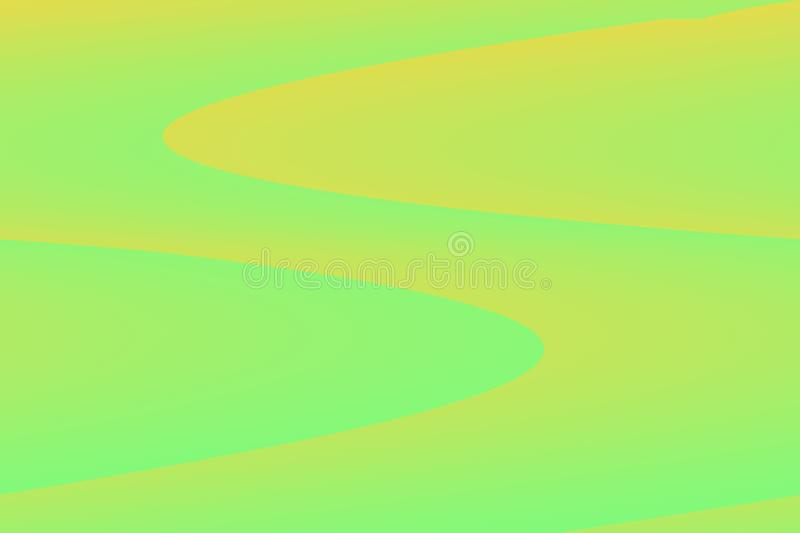 Yellow and green background vector illustration