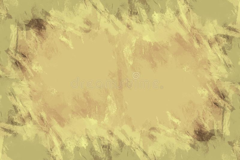 Yellow grunge paper texture background vector illustration