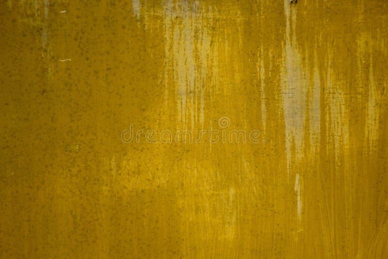 Yellow grunge texture royalty free stock photo