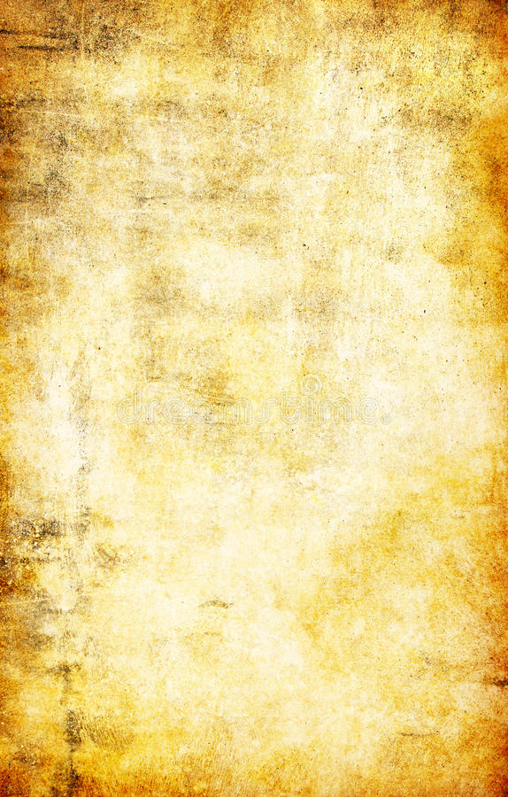 Download Yellow Grunge Textured Abstract Background Stock Illustration - Image: 12914523