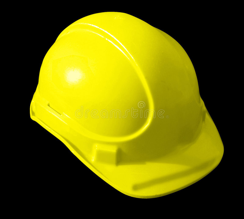 Download Yellow Hat builders stock image. Image of safe, shell - 7334097