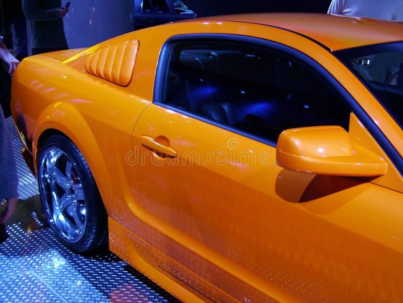 Yellow Horsepower. royalty free stock photo