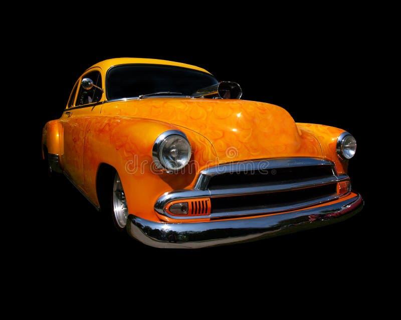 Download Yellow Hot rod stock photo. Image of black, shine, classic - 826388