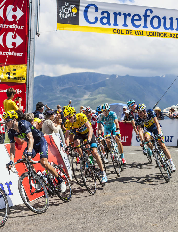 Download Yellow Jersey- Christopher Froome Editorial Photo - Image: 32118611