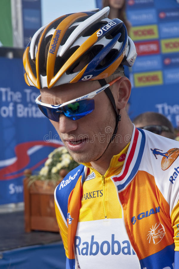 Download Yellow Jersey Holder Lars Boom Editorial Stock Photo - Image: 21275963