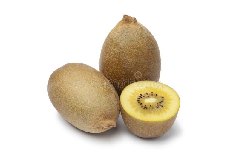 Yellow kiwi fruit royalty free stock images