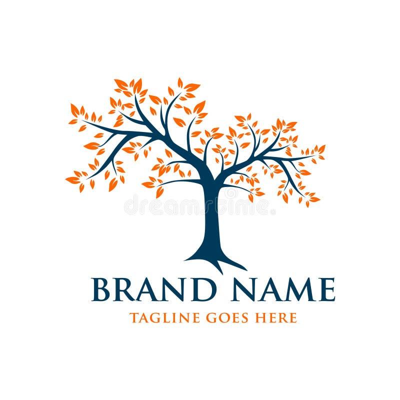 Free Yellow Leaf Tree Logo Stock Image - 146668081