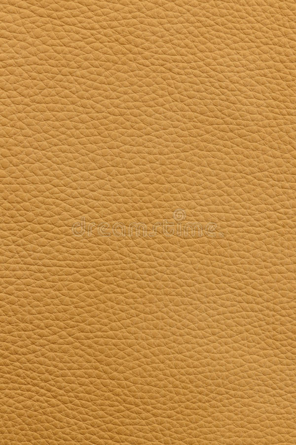 Yellow leather background stock photography