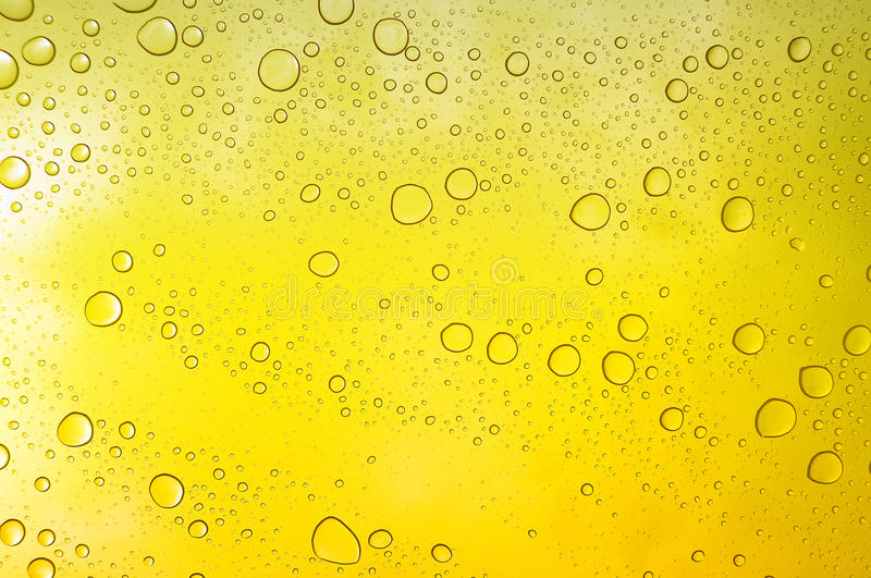Download Yellow liquid drops stock image. Image of background - 26222327