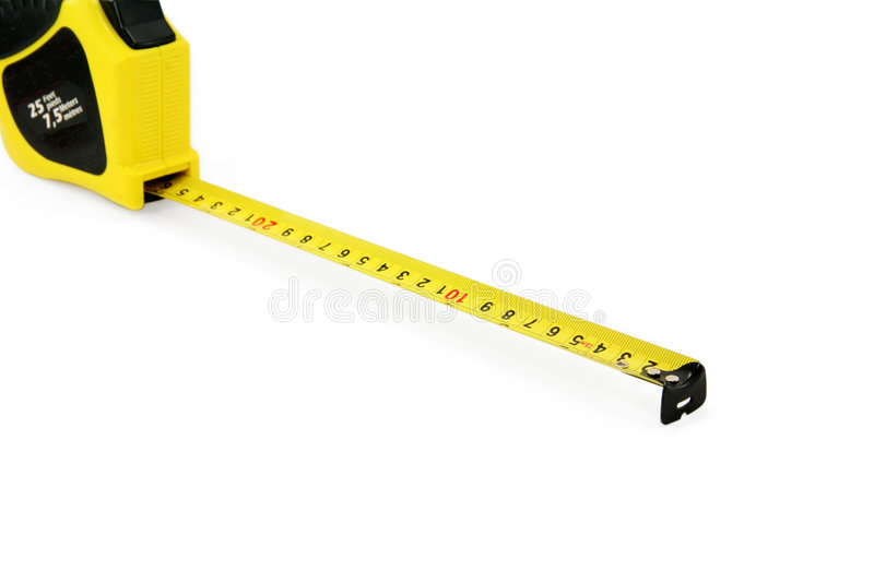 Download Yellow Measuring Tape Stock Photos - Image: 1414103