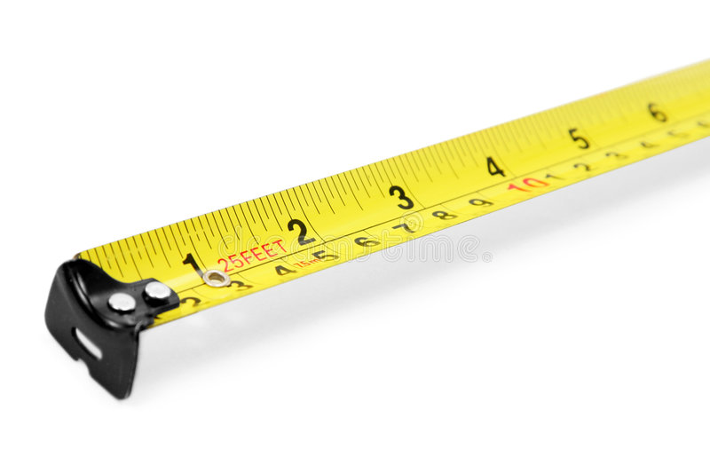 Download Yellow Measuring Tape Royalty Free Stock Photo - Image: 1414125