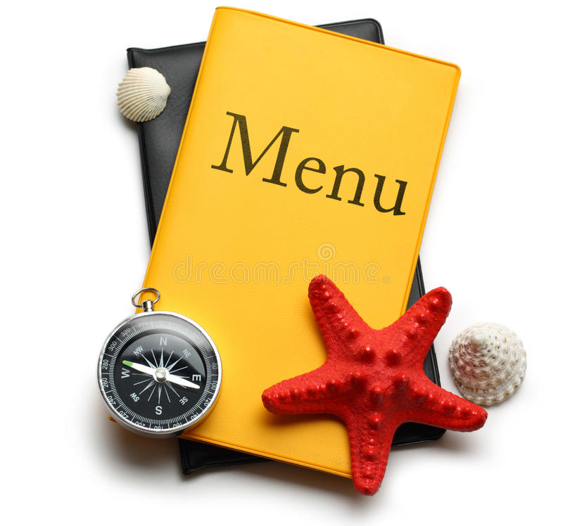 Download Yellow menu book stock image. Image of cafe, guide, page - 29842361