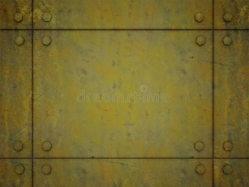 Download Yellow Metal Plate Royalty Free Stock Images - Image: 27944999