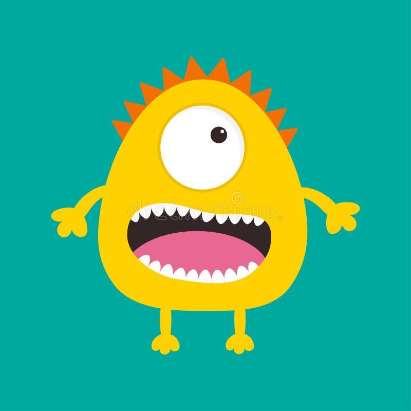 1 Eyed Cartoon Characters : Yellow cartoon characters with one eye ankaperla