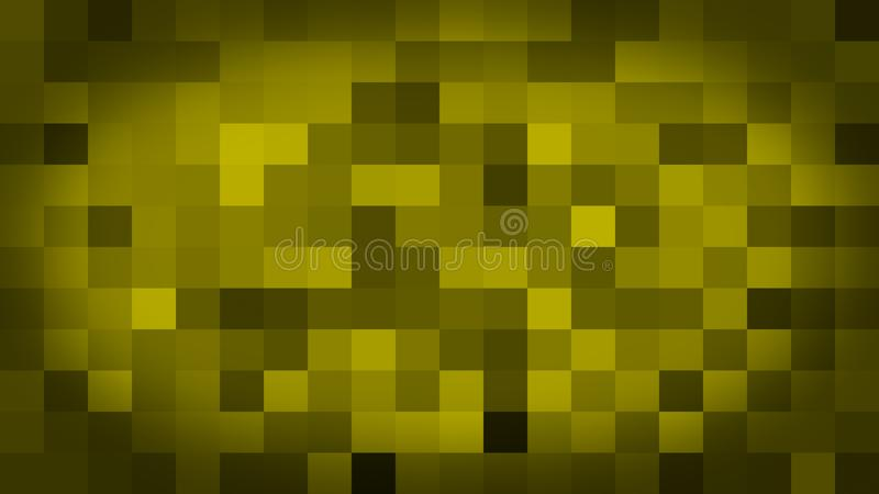 Yellow motion abstract background colorful pixels flashing and switch royalty free illustration