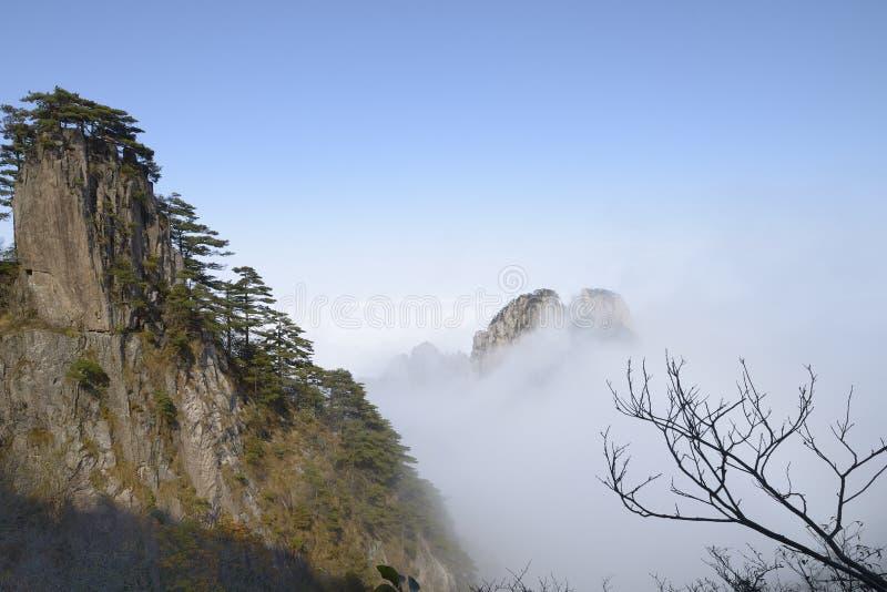 Yellow Mountain - Huangshan, China royalty free stock image